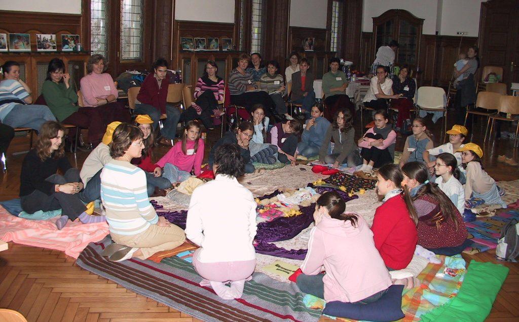Az első Ciklus-show képzés Magyarországon, 2006-ban