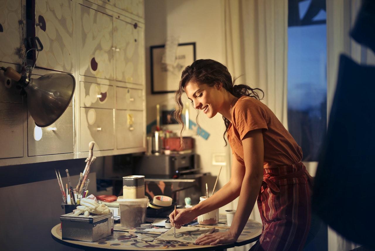 jó elfoglaltság a kamaszodnak a festés