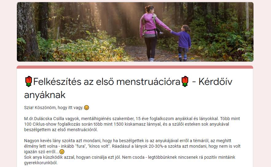 Első menstruáció: hogyan készítsd fel a lányod ?