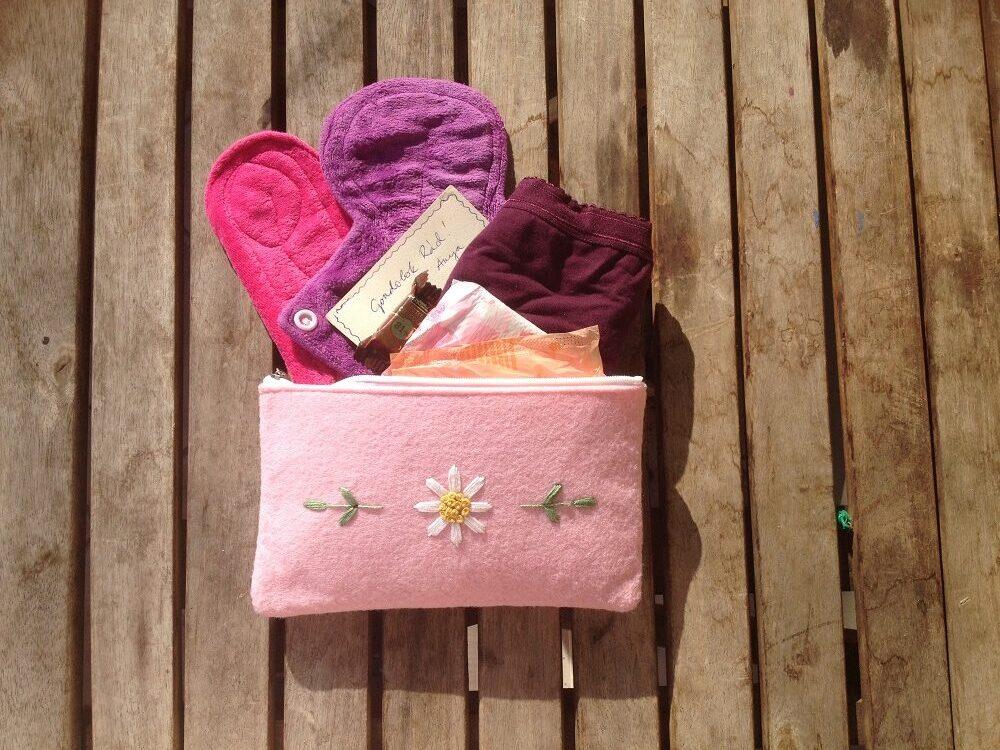 készíts össze egy nesszeszert a lányodnak az első menstruáció előtt